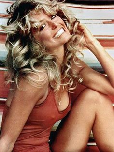 If i'd lived in the 70s I would have LOVED to have a Farrah Flick!