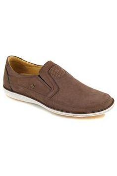 Kahve Deri Comfort Ayakkabı https://modasto.com/dr-flexer/erkek-ayakkabi/br22886ct82 #erkek