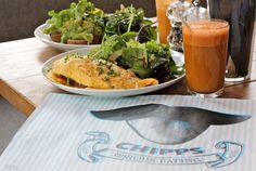 Vegetarisch naar Berlijn. Heerlijk vegetarisch eten op reis met het ontbijtmenu bij Chipps (Foto: Jeannette van Mullem) Vakantieboulevard.nl, verrassend andere reizen