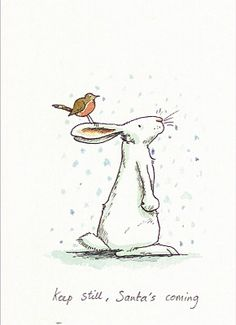 Keep still, Santa's coming, Anita Jeram
