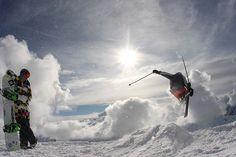 Jibbin' at the SnowSkool Ski Instructor Course at Three Valleys France 2013