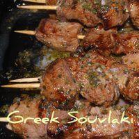 Greek Souvlaki - the secret's in the marinade!