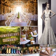 Photos of Country Chic Wedding Ideas