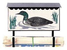 Bacova Gardens 10140 Loon Horizontal Wall Mounted Mailbox by Bluegrass Woods Mailboxes. $59.95. Bacova Gardens 10140 Loon Horizontal Wall Mounted Mailbox - Bluegrass Woods Mailboxes -