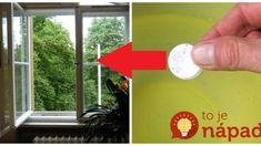 Okná a zrkadlá sa nikdy takto neleskli: Geniálna finta na sklo bez šmúh v celom byte, leštidlá môžete pokojne vyhodiť! Household, Presne Tak, Advice