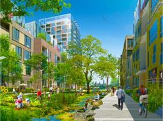 Urban Eco-Village Planned for Canada's Capital | Inhabitat - Sustainable Design Innovation, Eco Architecture, Green Building