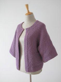 Edge-to-Edge Stitch Cardigan - Erika Knight - Digital Version | Erika Knight Knitting Patterns | Knitting Patterns | Deramores