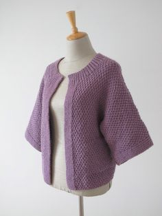 Edge-to-Edge Stitch Cardigan - Erika Knight - Digital Version | Erika Knight Knitting Patterns | Knitting Patterns | Deramores