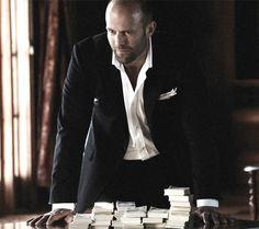 Jason Statham - He sure can make a suit look good ;)