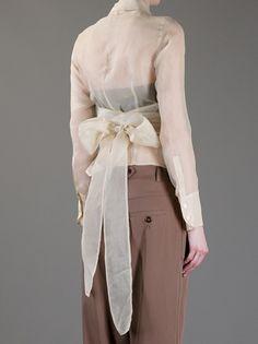 ROMEO GIGLI VINTAGE Sheer blouse