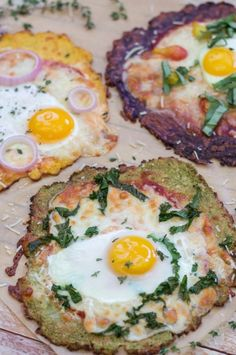Breakfast Pizza with Gluten-Free Cauliflower Crust | 27 Delicious Paleo Recipes To Make This Summer