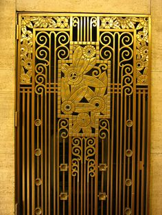 art deco grill by ifandany, via Flickr