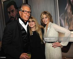 Richard Perry, tiny little Stevie   ~ ☆♥❤♥☆ ~    and Jane Fonda attend the 2014 Vanity Fair Oscar Party Hosted By Graydon Carter on March 2nd, 2014 in West Hollywood, California