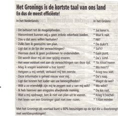 Gronings voor beginner Dutch People, Make Me Smile, Netherlands, Holland, Nostalgia, Funny Pictures, Doodles, Lol, Memories