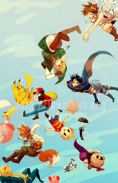 Super Smash Bros., Nintendo, Pikachu, Link, Lucas, Meta Knight ...