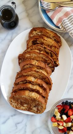 Ultimate Vegan French Toast - with coconut and almond milk, mashed banana, flaxseed, cinnamon and vanilla.