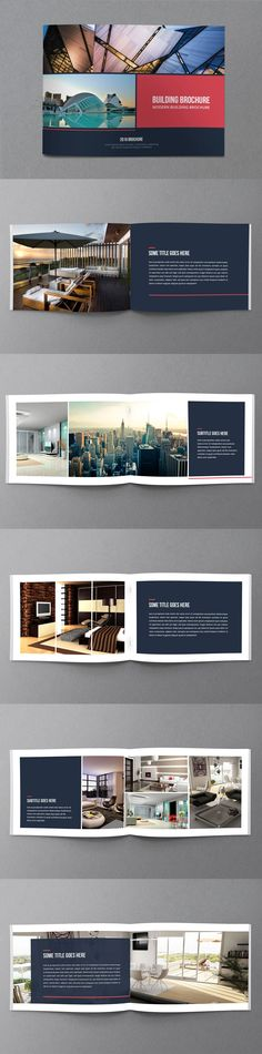 Multipurpose Corporate Brochure Template InDesign INDD