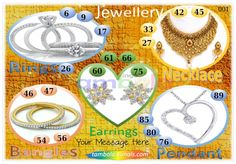 Jewellery Anywhere 3 in 90 - 9x4 - 20 Cues format : Templates Tickets | Tambola Housie