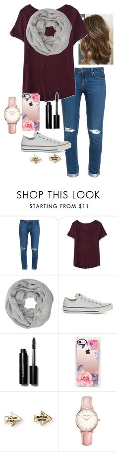 """""""Untitled #15"""" by nknudson-04 on Polyvore featuring Paige Denim, Aéropostale, John Lewis, Converse, Bobbi Brown Cosmetics, Casetify and Topshop"""