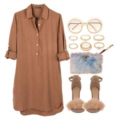 """""""× """"too deep."""""""" by sassy-862 ❤ liked on Polyvore featuring Forever 21, United by Blue, Prada and Chloé"""