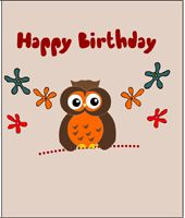 Free printable cute owl birthday cards everything owl pinterest say happy birthday to your loved ones with these adorable and free printable cute owl birthday cards bookmarktalkfo Choice Image