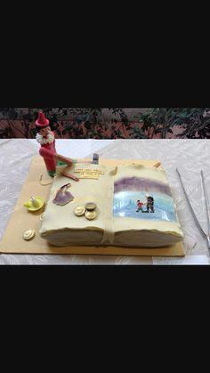 Torta libro Pinocchio