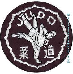 Patch - Judo Jacket Patch 8'' Tiger Claw…