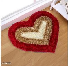 Checkout this latest Doormats_500-1000 Product Name: *Beautiful Heart Shaped Polyester Solid Carpet* Fabric: Polyester Dimension: ( L X W ) - 55 cm x 55 cm Description:  It Has 1 Piece Of Carpet  Pattern: Solid Country of Origin: India Easy Returns Available In Case Of Any Issue   Catalog Rating: ★3.9 (3056)  Catalog Name: Attractive Beautiful Heart Shaped Polyester Solid Carpet Vol 1 CatalogID_494208 C55-SC1118 Code: 542-3546851-354