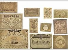 Free Printable Vintage Apothecary Labels - Bing images