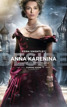 I'm actually sort of looking forward to this movie. It's going to be interesting to see what they do with Tolstoy's great work.