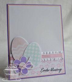 Embellished Egg Easter Card