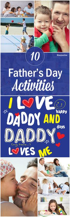 10 Wonderful Fathers Day Activities