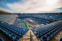 This Is What Happens When A Football Stadium Is Abandoned For 8 Years. Located outside Detroit, the Pontiac Silverdome....