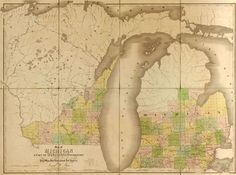 Michigan State and Wisconsin Territory 1839 Historic Map by David Burr American Atlas. A wide and growing selection of inexpensive reprints of rare Historic Maps are available from Hearthstone Legacy Publications at: http://www.hearthstonelegacy.com/Historic-Map-Reprints.htm