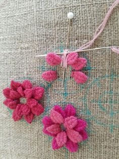Wonderful Ribbon Embroidery Flowers by Hand Ideas. Enchanting Ribbon Embroidery Flowers by Hand Ideas. Creative Embroidery, Simple Embroidery, Silk Ribbon Embroidery, Crewel Embroidery, Hand Embroidery Designs, Embroidery Kits, Cross Stitch Embroidery, Embroidery Needles, Embroidery Supplies
