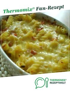 Pasta and ham gratin from A Thermomix ® recipe from the main course with meat category at www.de, the Thermomix ® Community. Noodle ham gratin Gertrud Schmid TM Rezepte Pasta and ham gratin from A Thermo Appetizers For A Crowd, Seafood Appetizers, Seafood Recipes, Pasta Recipes, Soup Recipes, Vegetarian Recipes, Greek Recipes, Recipes Dinner, Pancake Recipe With Yogurt