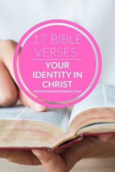 Your Identity In Christ, in this video I give you 17 Bible verses about your identity in Christ. You will know who you are in Christ and what God says about you. Know your identity in Christ using the Word of God, use these verses as daily Bible affirmations. What is your identity in Christ, Who I am in Christ #RosemariesHeart #HowToFindYourIdentityInChrist #KnowingWhoYouAreInChrist