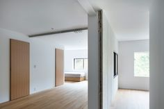 House in Nishiyoshino is a minimalist residence located in Nara, Japan, designed by Yusuke Seki Steel Frame Construction, Interior Architecture, Interior Design, Attic Spaces, Maine House, Old Wood, Design Awards, Minimalist, Home Decor