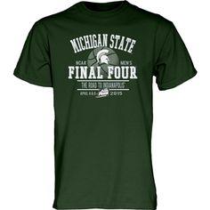 2015 Michigan State NCAA Final Four Tee