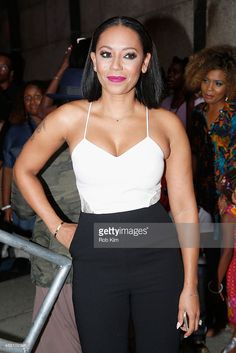 Singer Mel B attends the 2015 Essence Street Style Block Party on September 13, 2015 in New York City.