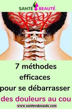 7 méthodes efficaces pour se débarrasser des douleurs au cou #exercices #astucessanté #méthides #douleurs #douleursaucou Reiki, Health, Sauf, Figaro, Gym, Sports, Cervical Pain, Back Pain, Urgent Care