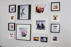 DIY Gallery Wall & Canon PIXMA Photo All-in-One Printer. The Canon PIXMA prints beautiful photos, up to 8.5″ x 11″ and sharp documents with amazing quality. It has six individual ink tanks, including gray ink for black & white photos. And if one tank runs out, you don't have to replace them all. You only replace the color tank that runs out.