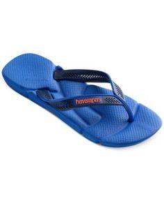 91aeacdc404 Havaianas Men s Power Flip-Flop - Blue 12 13 Havaianas Mens