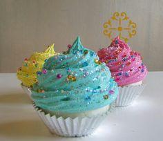 Bling bling cupcake