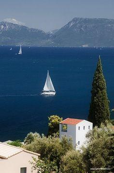 Lefkada island, Ionian sea, Greece