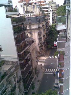 El balcon!