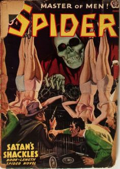 The Spider - June 1938 | pulp cover vintage art