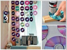 DIY How to Reuse Your Old CDs in a Crafty Way