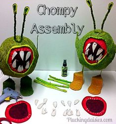 How to make a Chompy | @PluckingDaisy #skylanders #party #tutorial