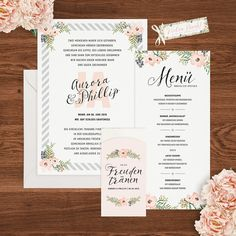 Einladungen by project pinpaint My dream wedding
